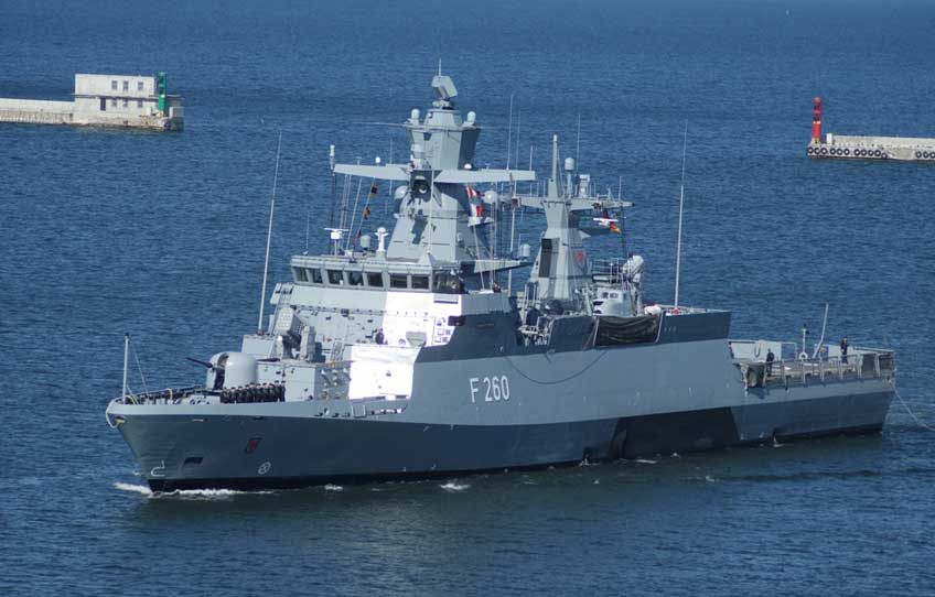 Korweta Deutsche Marine