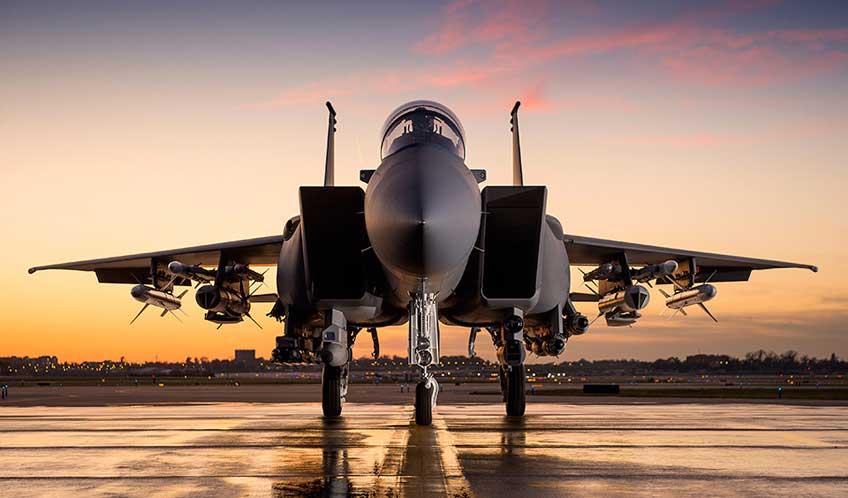 Samolot F-15SA Strike Eagle