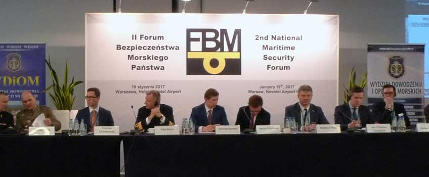Konferencja II Forum Bezpieczeństwa Morskiego Państwa