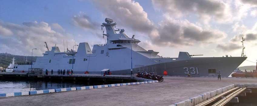Fregata KRI Raden Eddy Martadinata – pierwszej jednostki typoszeregu Sigma 10514