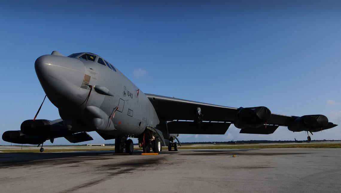 Boeing B-52H Stratofortress.