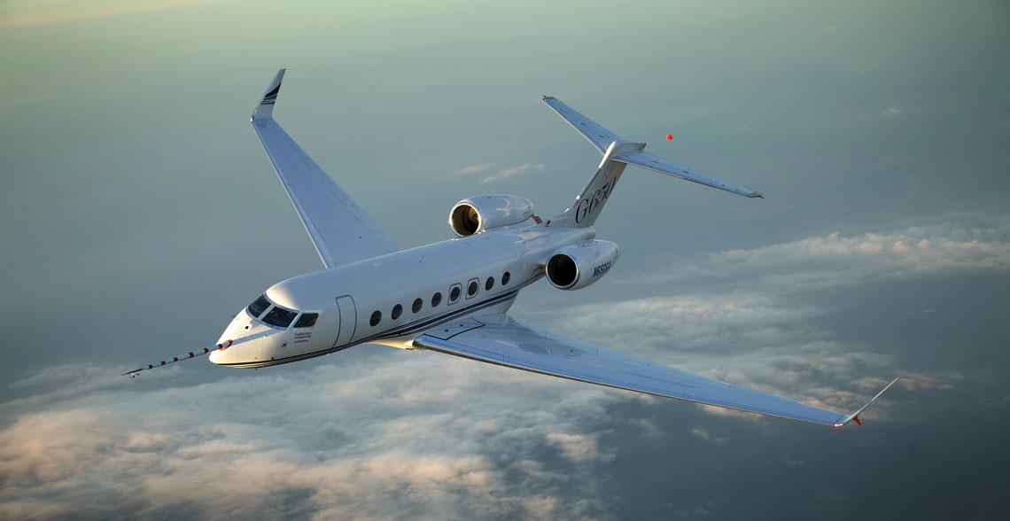 Flagowy model bizjeta firmy Gulfstream Aerospace – Gulfstream G650. Wraz z odmianą G650ER o wydłużonym zasięgu są to największe, najcięższe i najdroższe samoloty w dotychczasowej historii firmy.