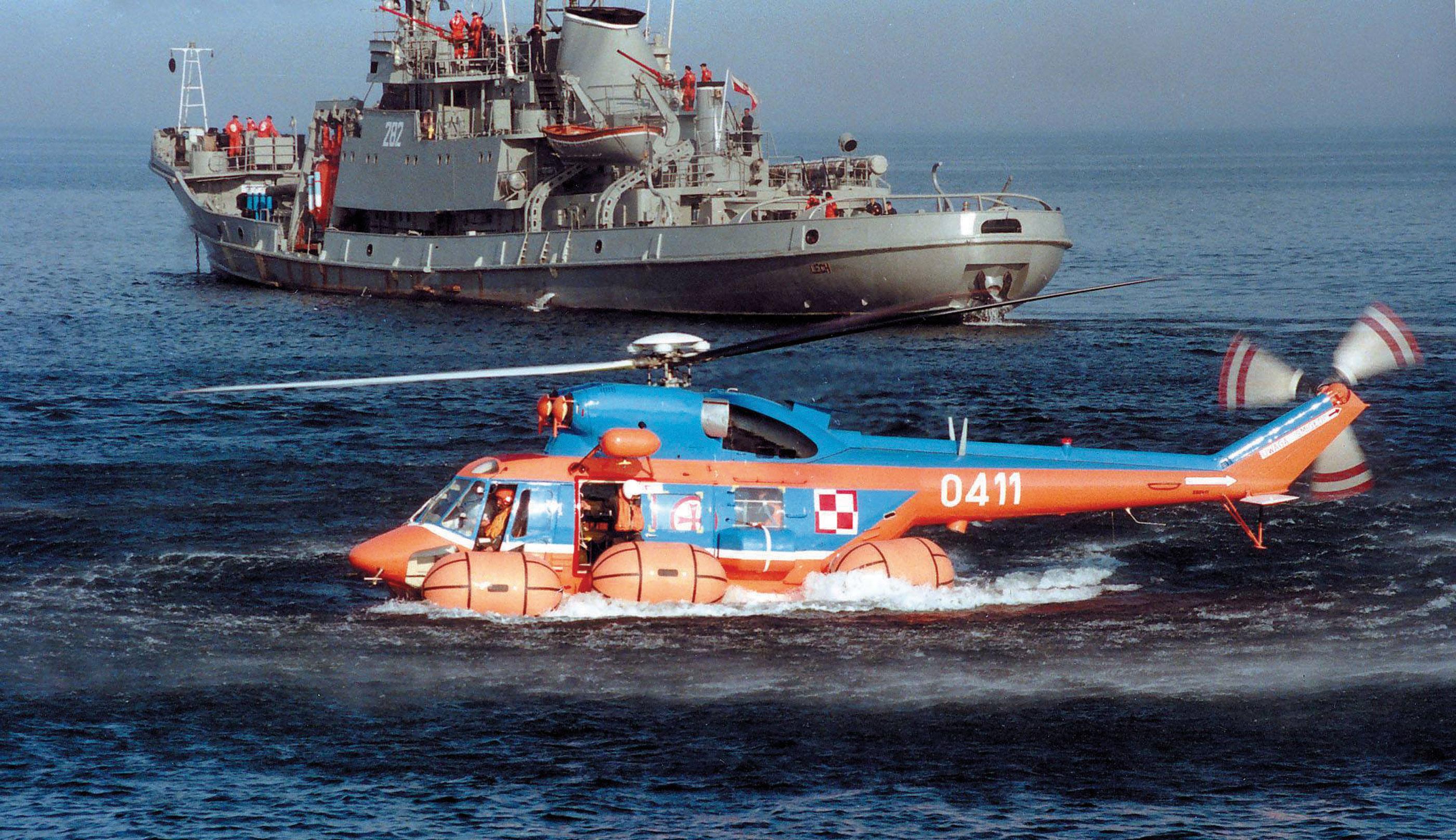 Śmigłowce PZL-Świdnik W-3 Sokół i W-3RM Anakonda w lotnictwie Marynarki Wojennej
