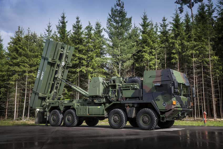 MBDA, MEADS TOC und Launcher