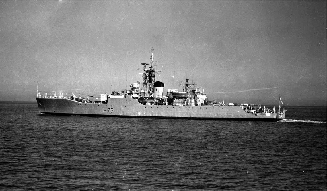 Brytyjskie fregaty zimnej wojny. Turboparowe siostry