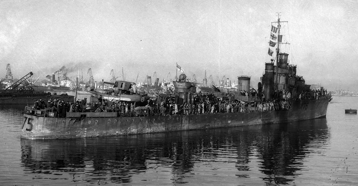 U 515 w akcji. Zatopienie HMS Hecla