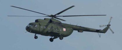Śmigłowiec Mi-8 w locie