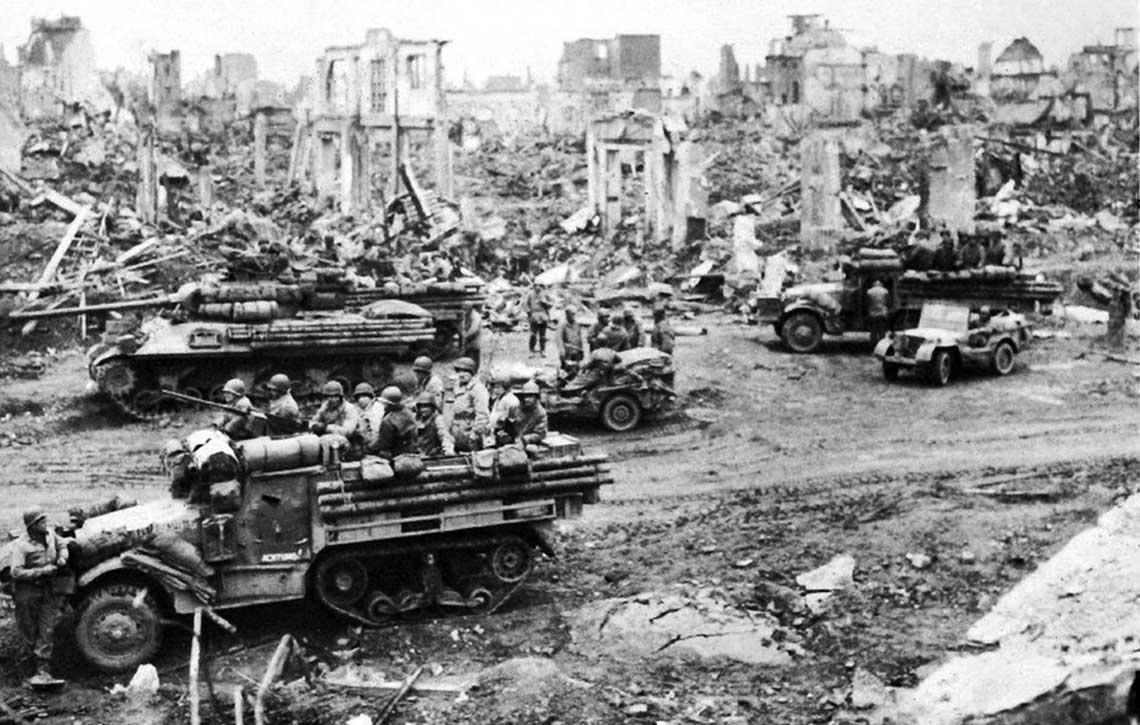 Amerykańska 3. Armia: od Renu do Czech