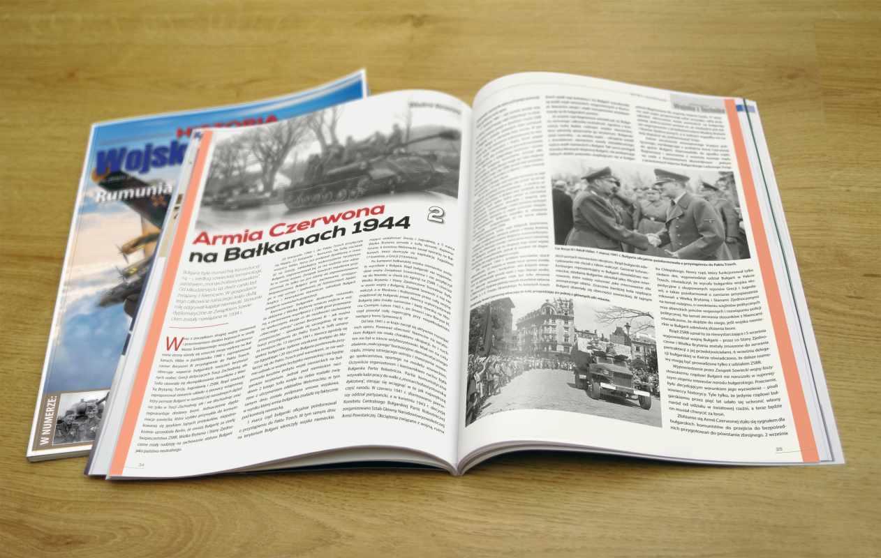 Rozkładówka magazynu Wojsko i Technika - Historia 1/2017