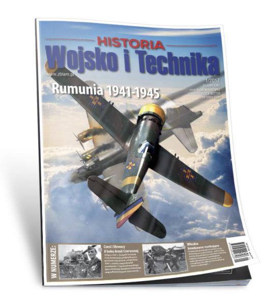 Okładka Wojsko i Technika - Historia 1/2017