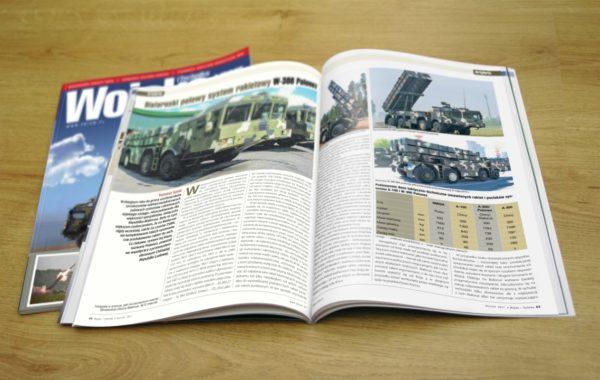 Rozkładówka czasopisma Wojsko i Technika 1/2017