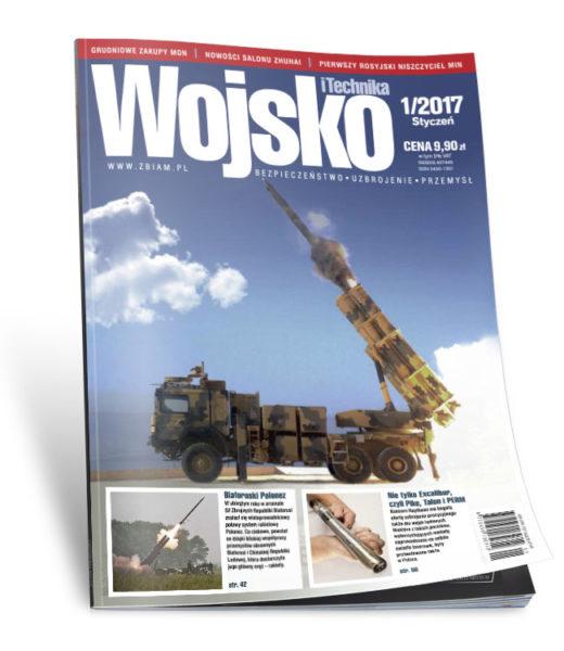 Okładka czasopisma Wojsko i Technika 1/2017