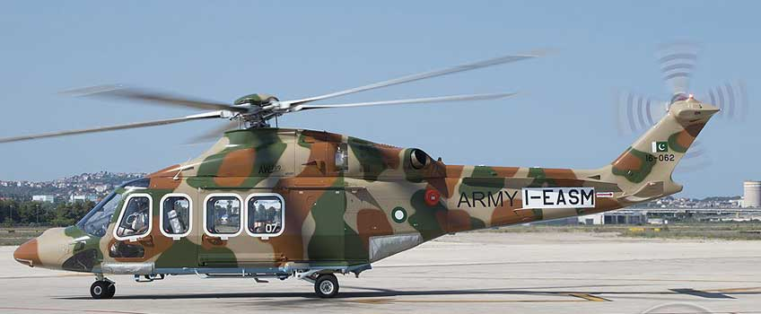 Wielozadaniowy śmigłowiec transportowy AW139