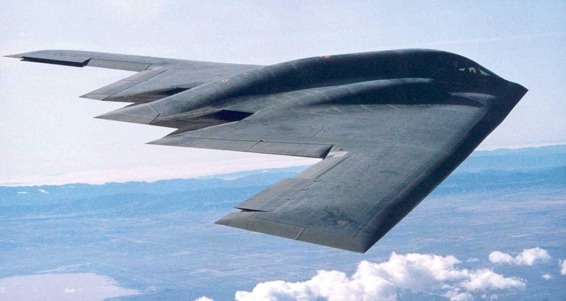 Northrop Grumman B-2A-Spirit.