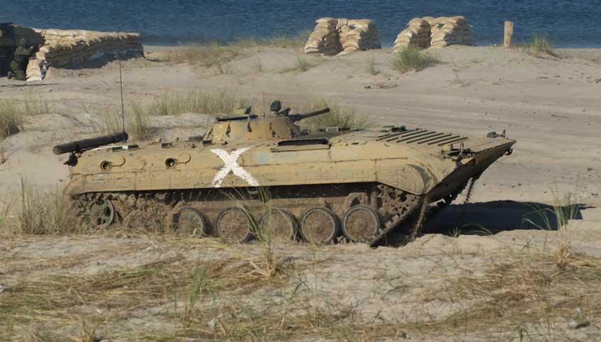 Radziecki bojowy wóz piechoty BWP-1