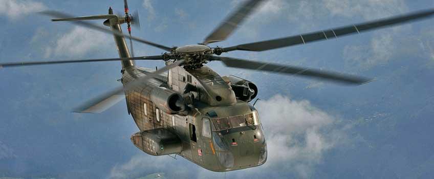 ciężki śmigłowiec transportowy Sikorsky CH-53G Stallion