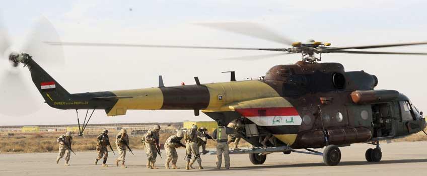 Wielozadaniowe śmigłowce transportowe Mil Mi-17