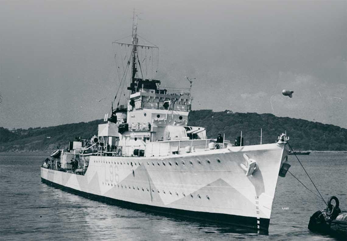 Niszczyciel eskortowy HMS Tynedale