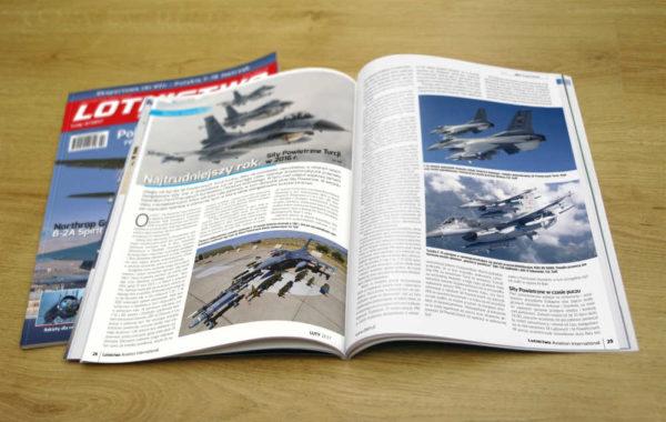 Rozkładówka magazynu Lotnictow Aviation International 2/2017