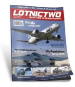 Okładka magazynu Lotnictow Aviation International 2/2017