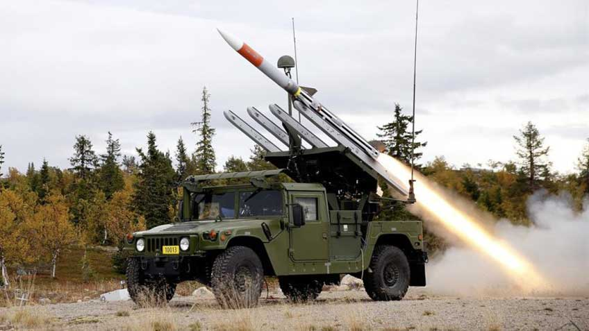Zestaw przeciwlotniczy systemu NASAMS