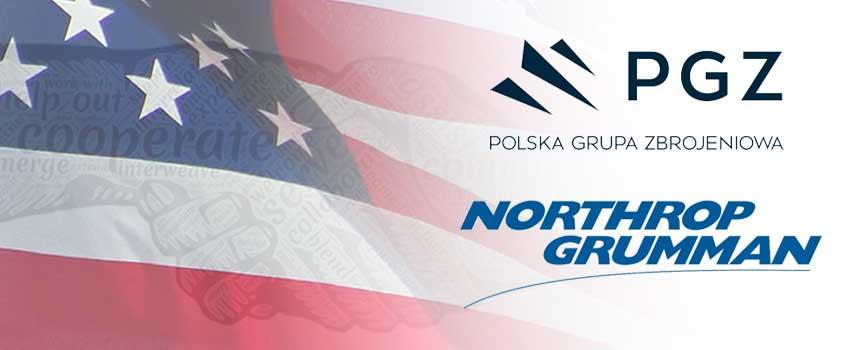 Porozumienie o współpracy pomiędzy PGZ oraz Northrop-Grumman