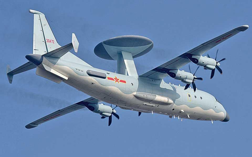 Samolot dozoru radiolokacyjnego KJ-500