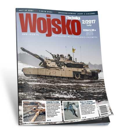 Okładka czasopisma Wojsko i Technika 2/2017