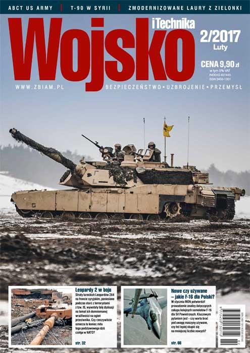 Czasopismo militarne Wojsko i Technika 2/2017