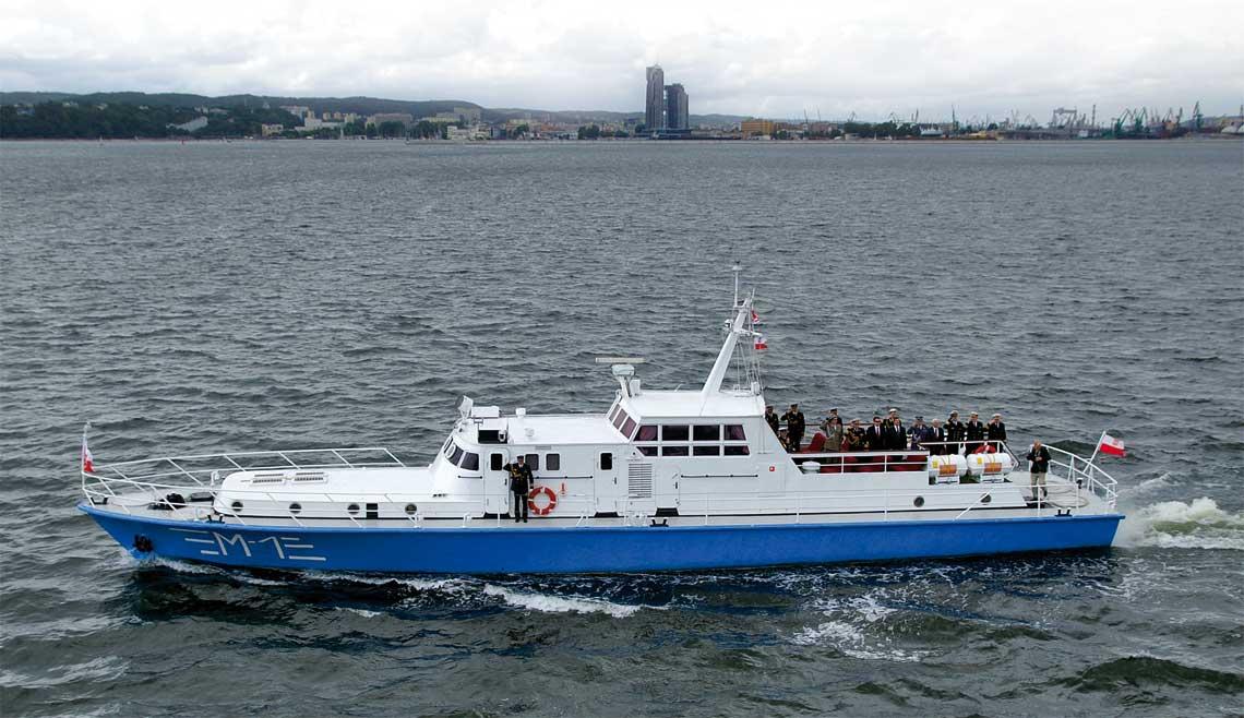 M-1 na ostatnim występie publicznym – paradzie Marynarki Wojennej w czerwcu 2013r. na redzie Gdyni.