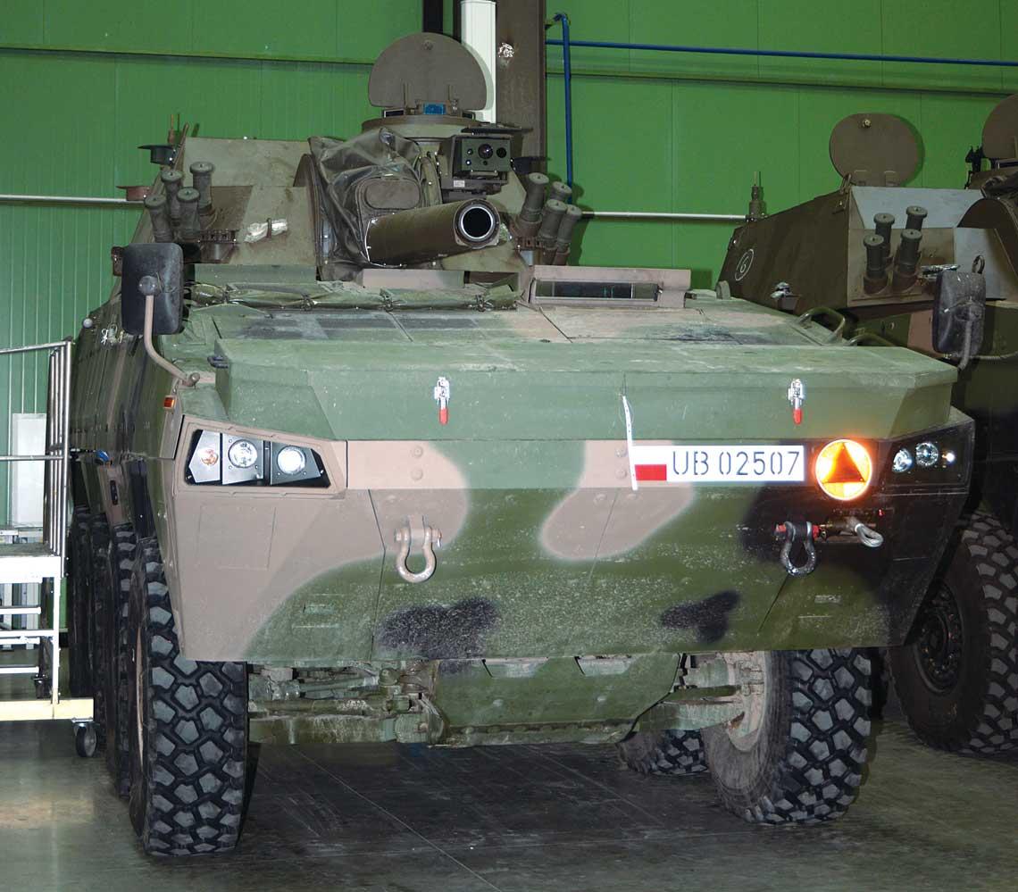 moździerz samobieżny M120K