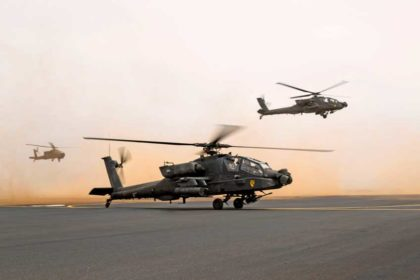 śmigłowce szturmowe AH-64E Guardian