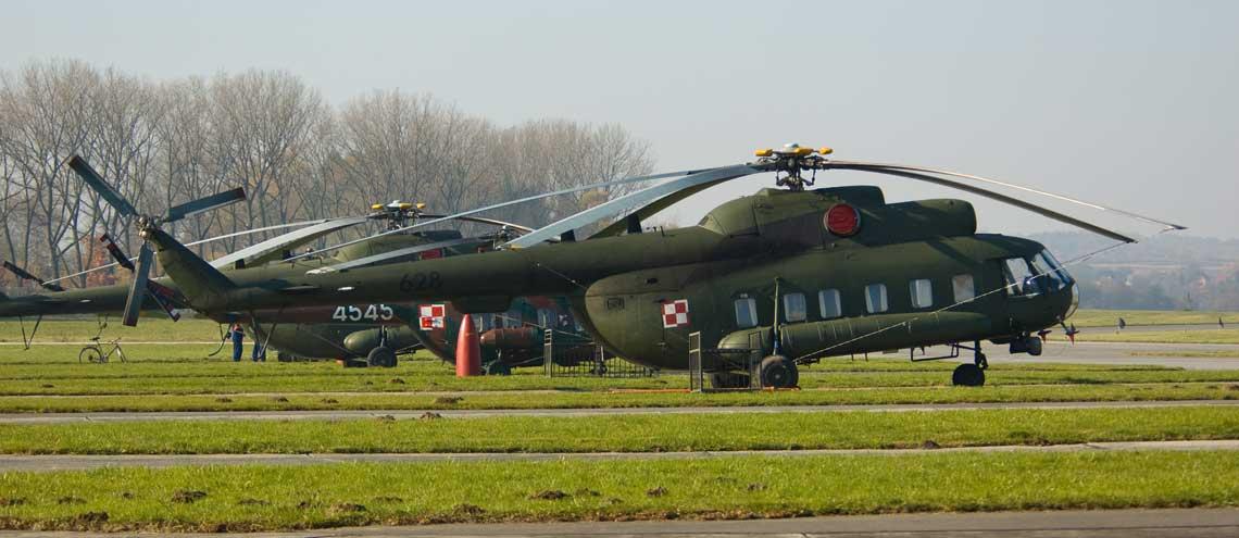 śmigłowce ratownictwa lądowego Mi-8P/RL iMi-8T/RL