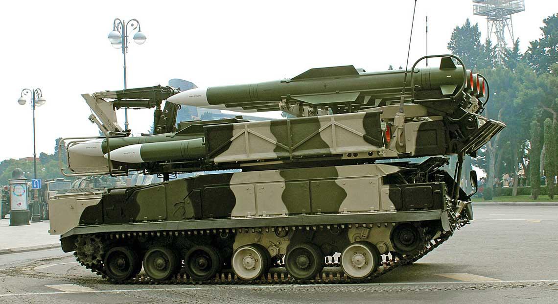 pojazd transportowo-załadowczo-bojowy 9A39MB systemu Buk-MB