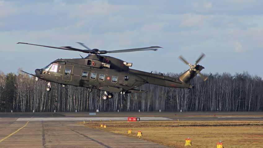 wielozadaniowy śmigłowiec transportowy AW101 Merlin
