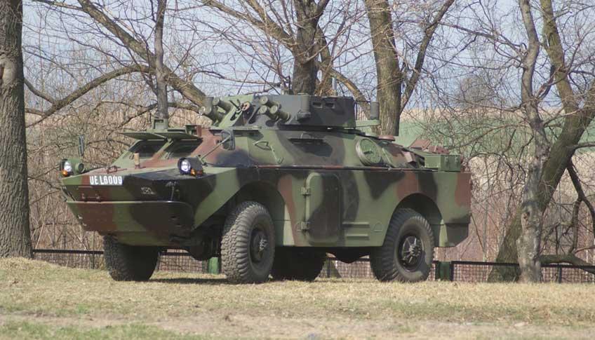 kołowy wóz rozpoznawczy BRDM-2