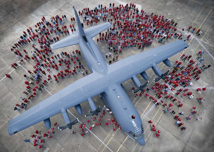 samolot transportowy Lockheed Martin C-130J Super Hercules