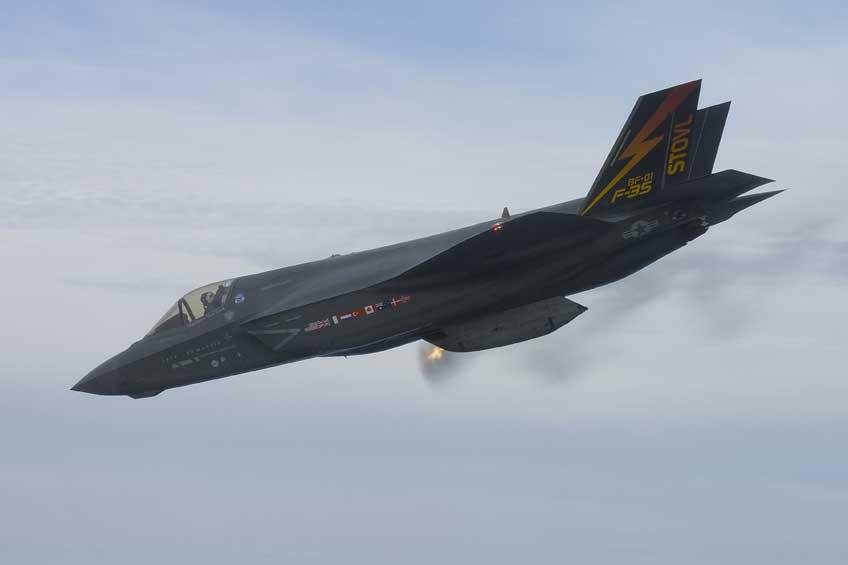 Samolot bojowy Lockheed Martin F-35 Lightning II