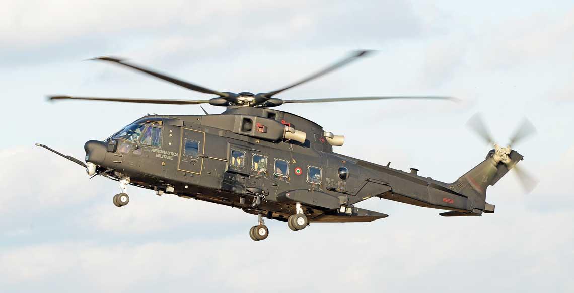 Śmigłowiec CSAR – SOF Leonardo HH-101A Caesar