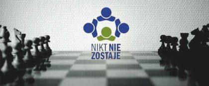 """Konkurs szachowy Fundacja """"NIKT NIE ZOSTAJE"""
