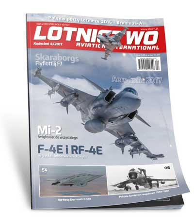 Lotnictwo Aviation International 4/2017 okładka