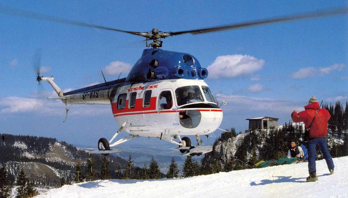 Mi-2 w lotnictwie górskim