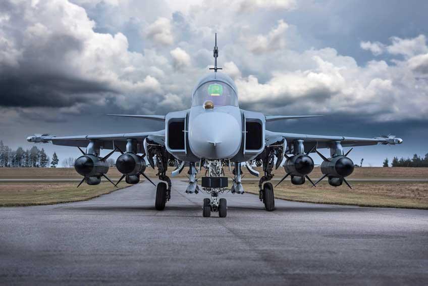 wielozadaniowy samolot bojowy Saab JAS-39E Gripen