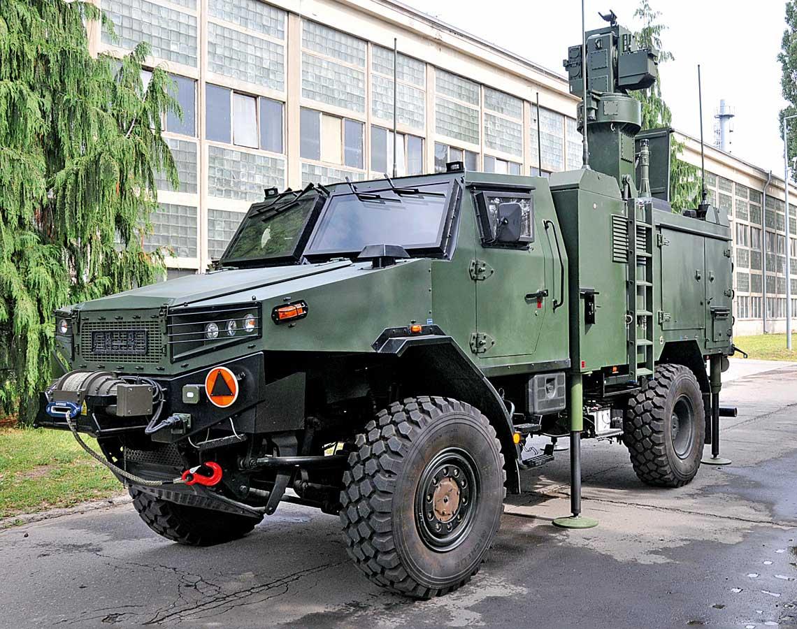 Żubr, na zdjęciu wersja Żubr-P WG-35