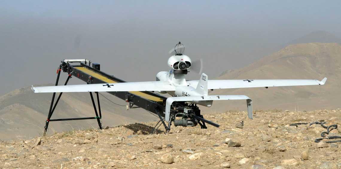 bezzałogowy system rozpoznania taktycznego Luna wykorzystywany przez niemiecki kontyngent w Mali