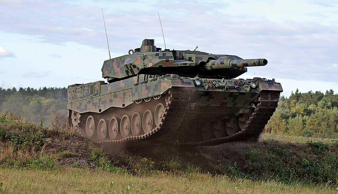 demonstrator modernizacji czołgu podstawowego Leopard 2A4 do standardu 2PL