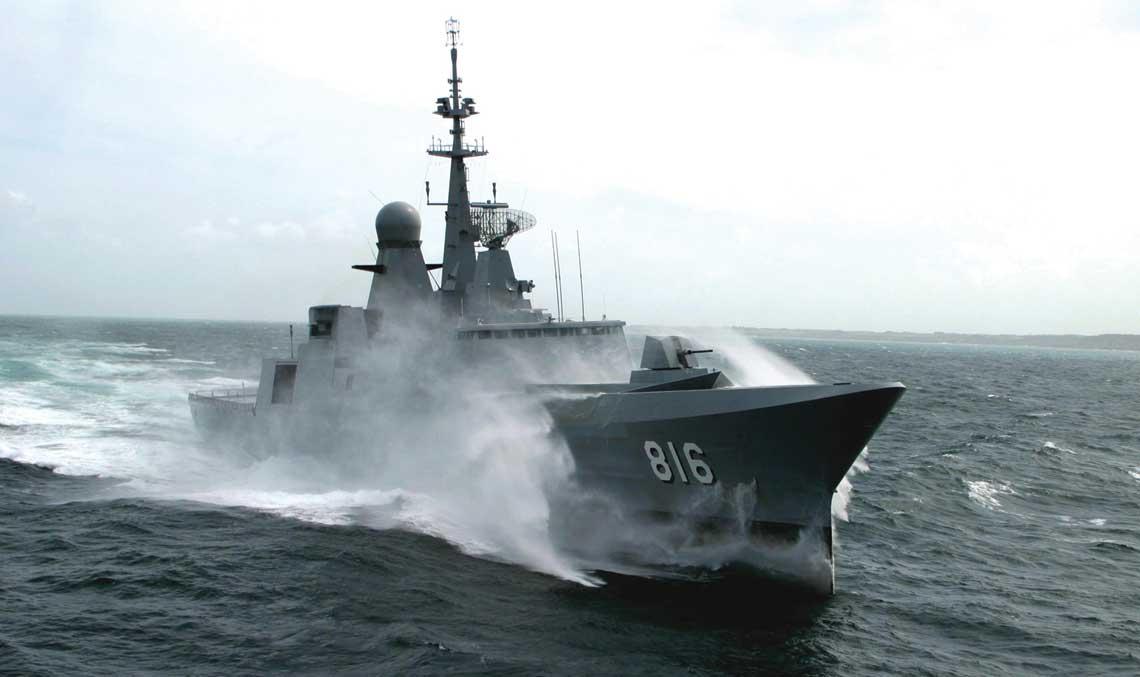 fregata Al Dammam typu Al Riyadh