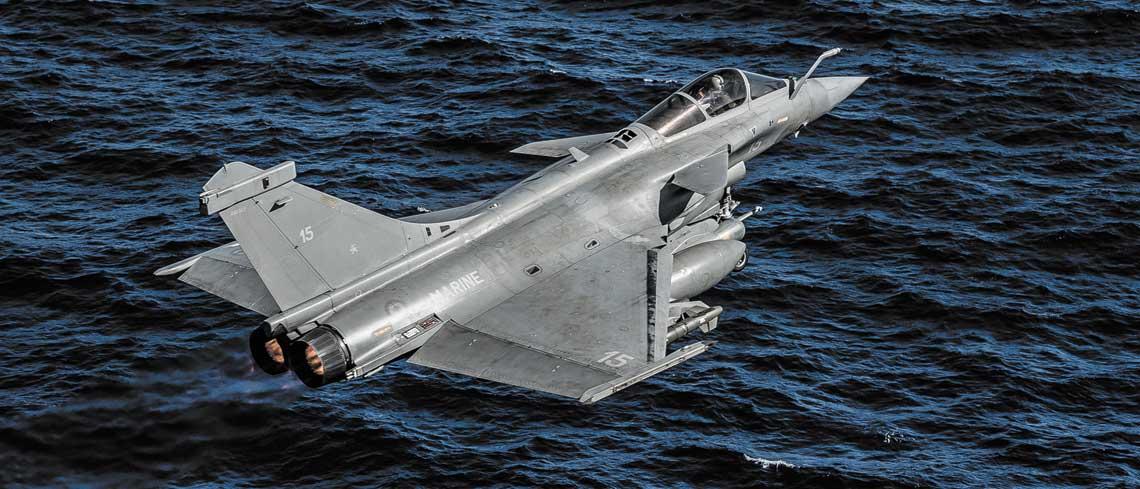 francuskie lotnictwo w operacji Chammal