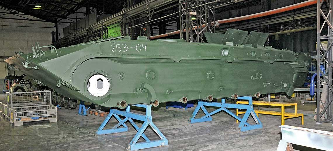 remont wozów piechoty BWP-1