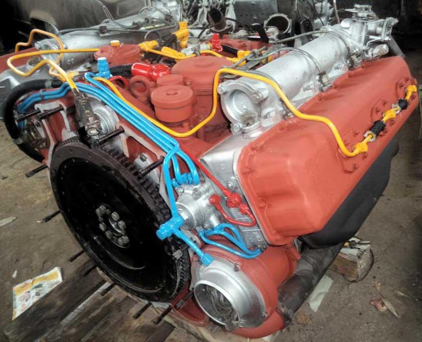 silniki dla BWP-1